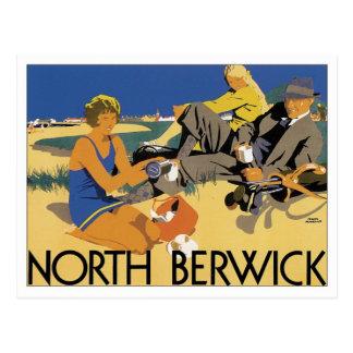Vintage Berwick del norte Postal