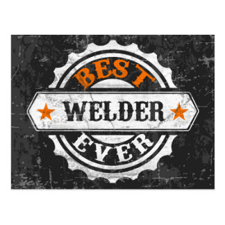 Vintage Best Welder Postcard