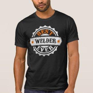 Vintage Best Welder T Shirts