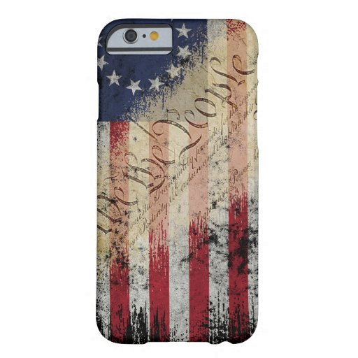 Vintage Betsy Ross American Flag iPhone 6-6s Case