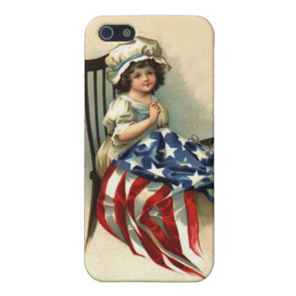 Vintage Betsy Ross Kid iPhone SE/5/5s Cover