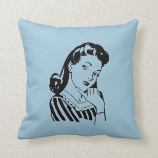 Vintage Betty - almohadas de tiro reversibles