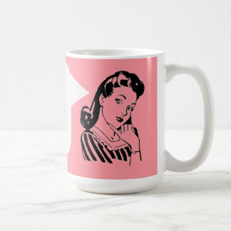 Vintage Betty - secretaria Personalized Mug de Taza De Café