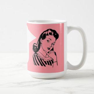 Vintage Betty - Snarky Secretary Personalized Mug
