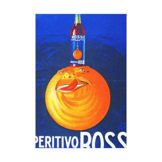 Vintage Beverage Ad 1930 Stretched Canvas Print