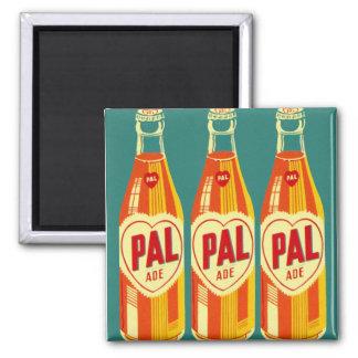 Vintage Beverages Pal Soda Bottle Magnet