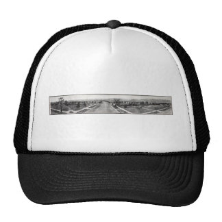 Vintage Beverly Hills California Panorama Suburbs Trucker Hat