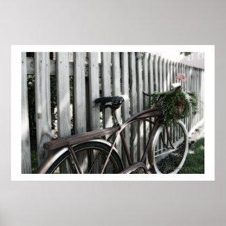 Vintage Bicycle1 Poster Print
