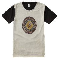 Vintage Bicycle 11 Options All-Over Print T-shirt