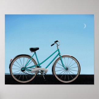 Vintage Bicycle - 11x14 Art Poster Print