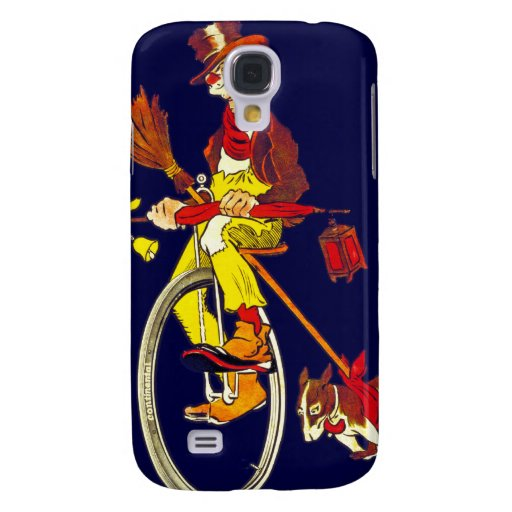 Vintage Bicycle Ad: Continental Samsung Galaxy S4 Covers