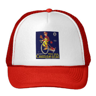 Vintage Bicycle Ad: Continental Trucker Hat
