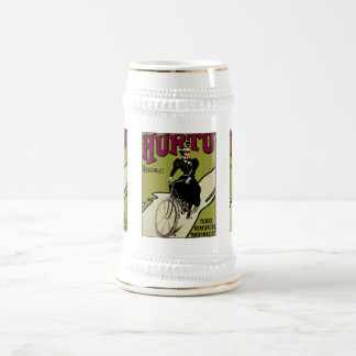 Vintage Bicycle Ad: Hurtu Bicycles Beer Stein