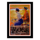 Vintage Bicycle Ad: Meteor Cycles Cards