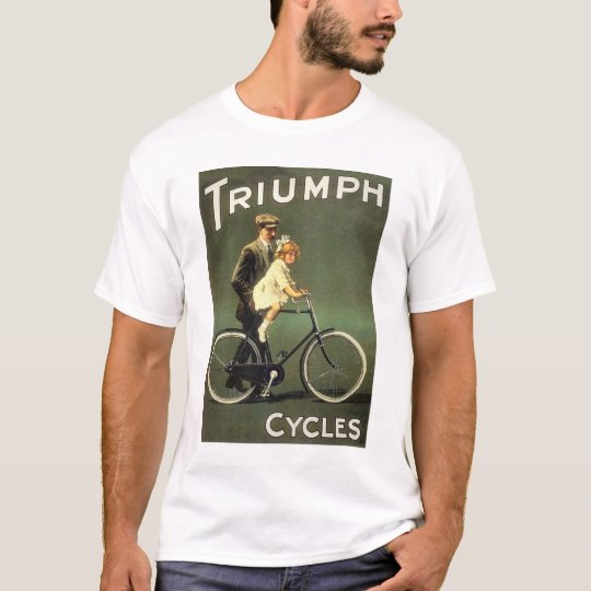 Vintage Bicycle Ad :  Triumph Cycles T-Shirt