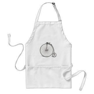 Vintage Bicycle Adult Apron