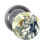 Vintage Bicycle Advertisement - Cycling 2 Inch Round Button