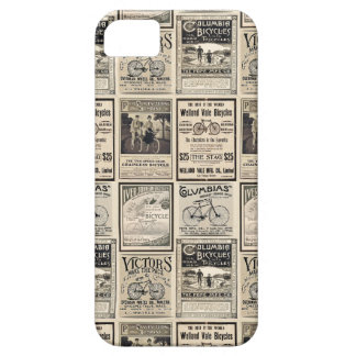 Vintage Bicycle Advertising Collage Ads iPhone 5 Case