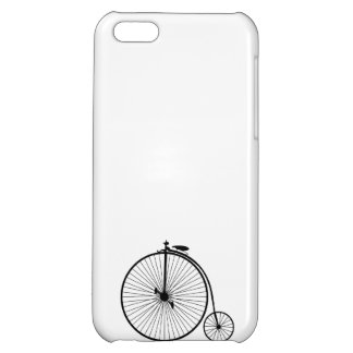 vintage bicycle antique bike symbol sihouette case for iPhone 5C