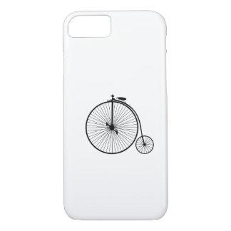 vintage bicycle antique bike symbol sihouette iPhone 8/7 case