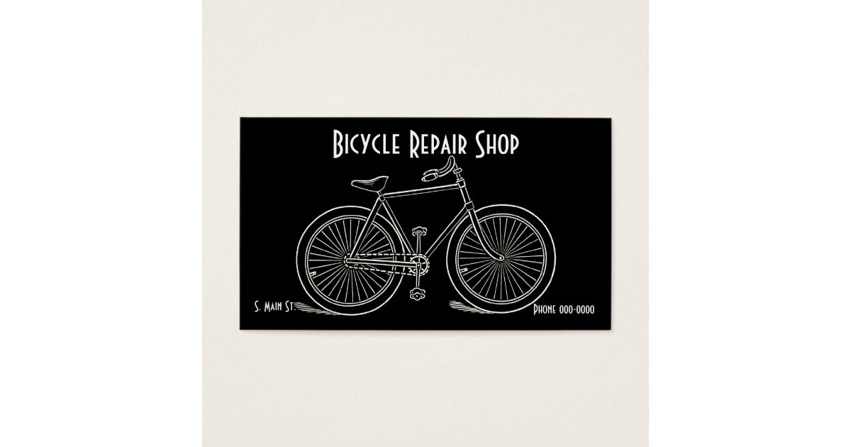 Vintage Bicycle Business Cards | Zazzle.com