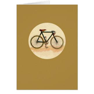 Vintage Bicycle Card