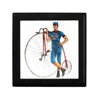 Vintage Bicycle Championship Keepsake Box