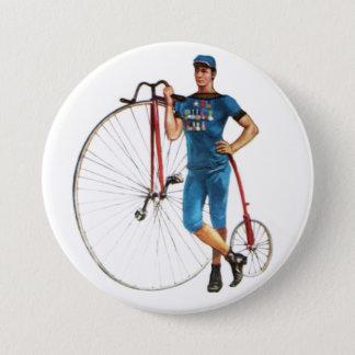 Vintage Bicycle Championship Pinback Button