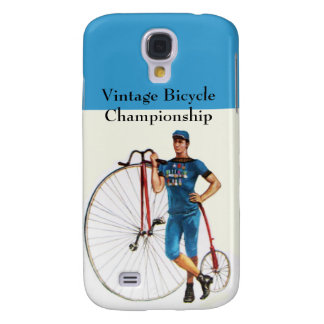 Vintage Bicycle Championship Samsung Galaxy S4 Cover