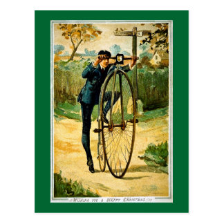 Vintage Bicycle Christmas Card