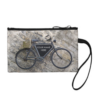 Vintage Bicycle Coin Purse