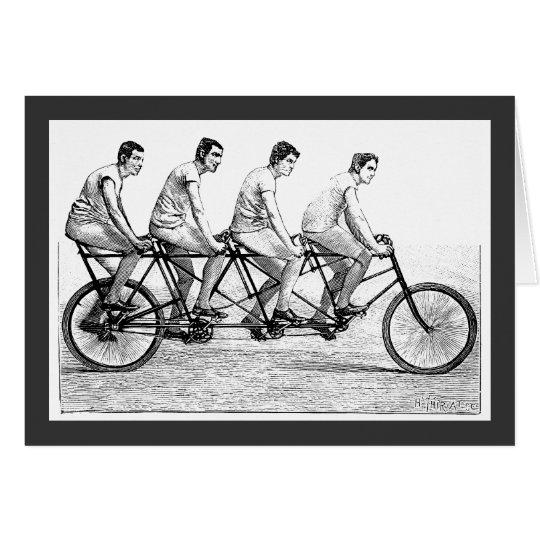 Vintage Bicycle - Cycling Cyclist Bike Race Card