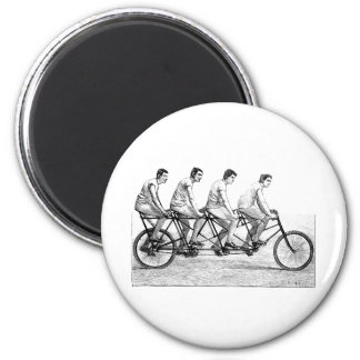 Vintage Bicycle - Cycling Cyclist Bike Race Refrigerator Magnets