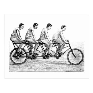 Vintage Bicycle - Cycling Cyclist Bike Race Postcard