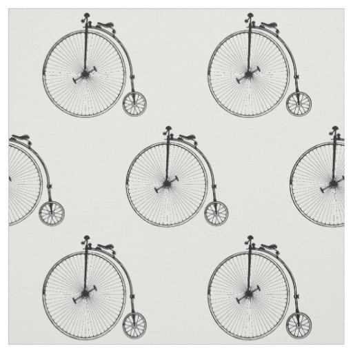 Vintage Bicycle Fabric