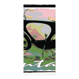 vintage Bicycle Full Color Rack Card