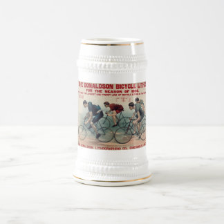 Vintage Bicycle Gift ideas for Cycle fans Beer Stein