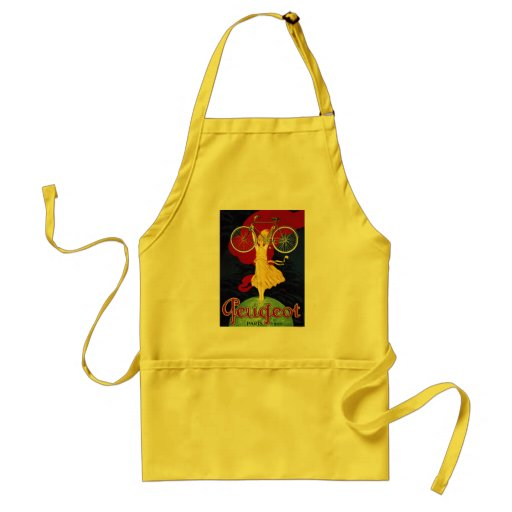 Vintage Bicycle Gifts - Cycles Peugeot Apron