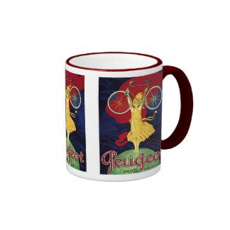 Vintage Bicycle Gifts - Cycles Peugeot Coffee Mugs
