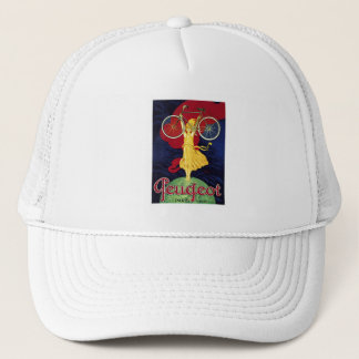 Vintage Bicycle Gifts - Cycles Peugeot Trucker Hat