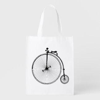 Vintage Bicycle Grocery Bag