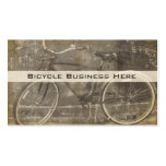 Vintage Bicycle Grungy Business Card Pack Of Standard Business Cards