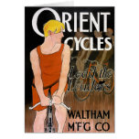 Vintage Bicycle Image -  Orient Cycles Card