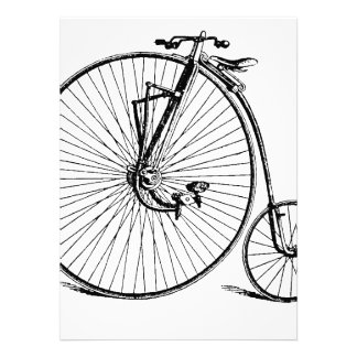 Vintage Bicycle Personalized Announcement
