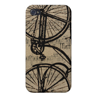 Vintage Bicycle iPhone Cover