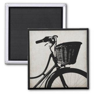 Vintage Bicycle Magnet