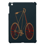 Vintage Bicycle Old School Blue Red Bike Cover For The iPad Mini