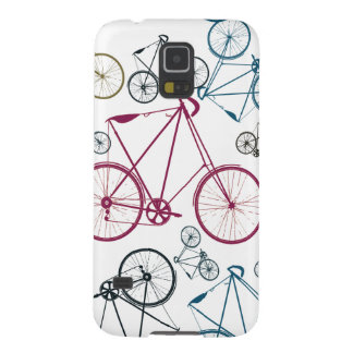 Vintage Bicycle Pattern Gifts for Cyclists Case For Galaxy S5