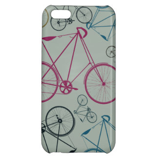 Vintage Bicycle Pattern Gifts for Cyclists iPhone 5C Case