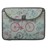 Vintage Bicycle Pattern Gifts for Cyclists Sleeve For MacBook Pro